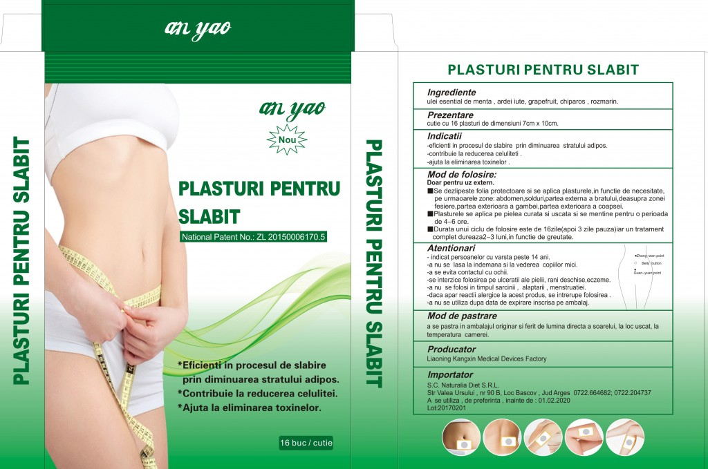 Plasturi pentru slăbit, Naturalia Diet, 4 buc | mymamaluvs.com